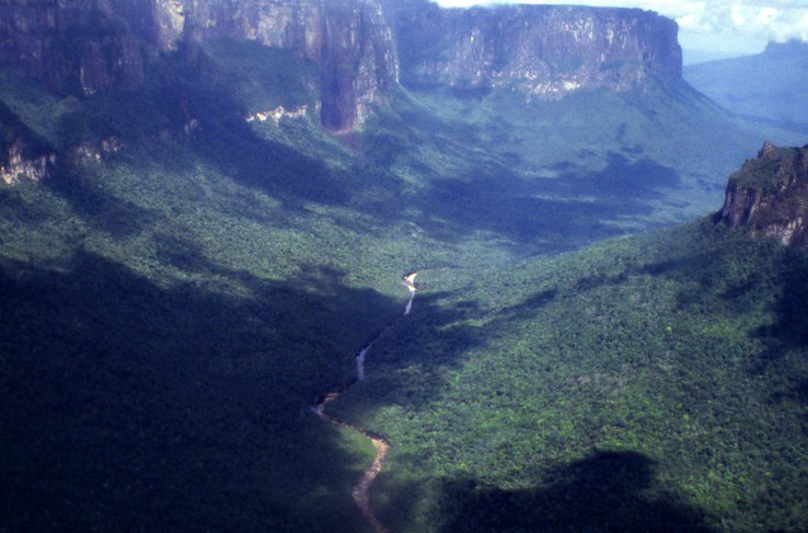 La Gran Sabana, Tablelands