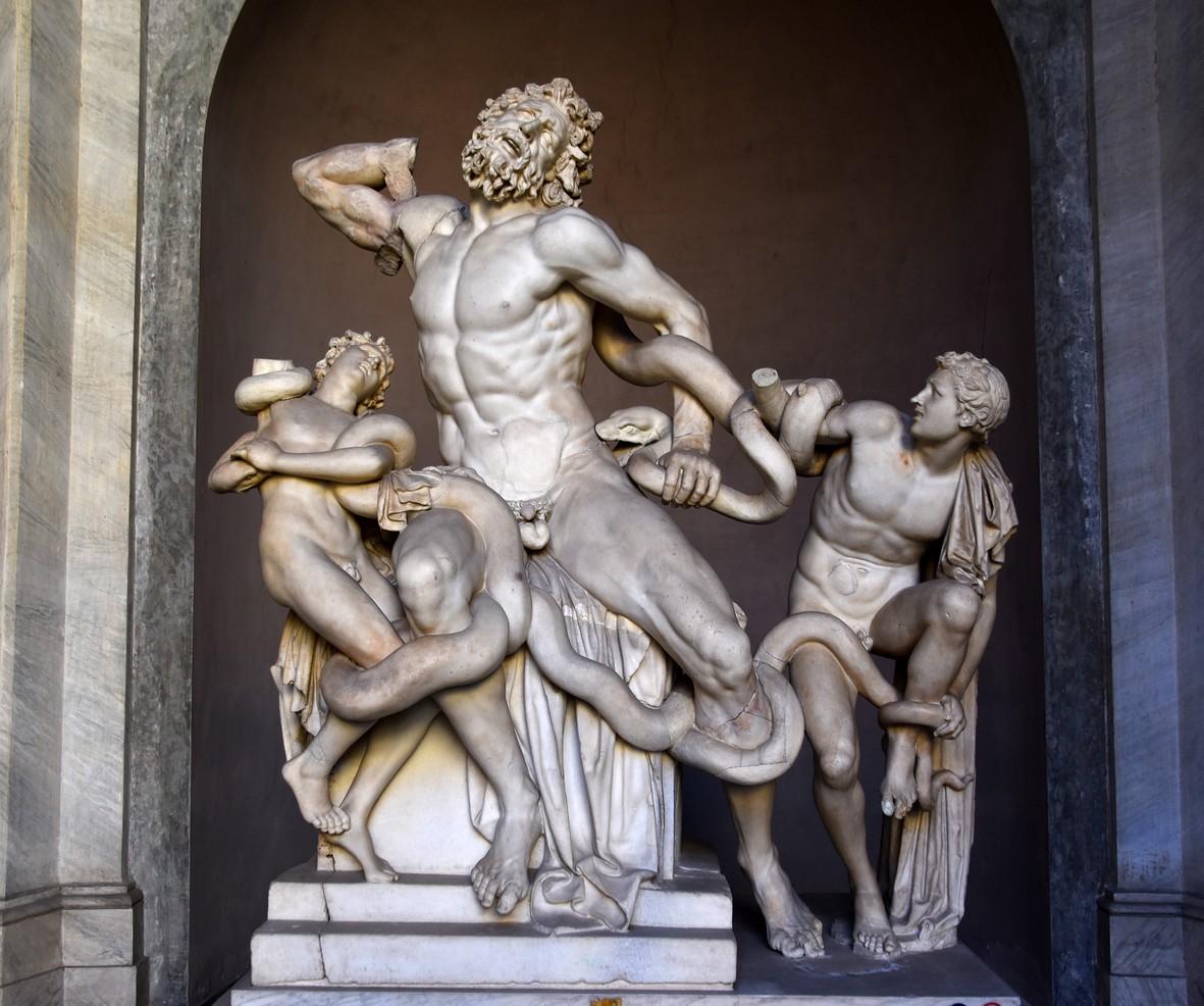 Laokoon, Vatikan-museeet