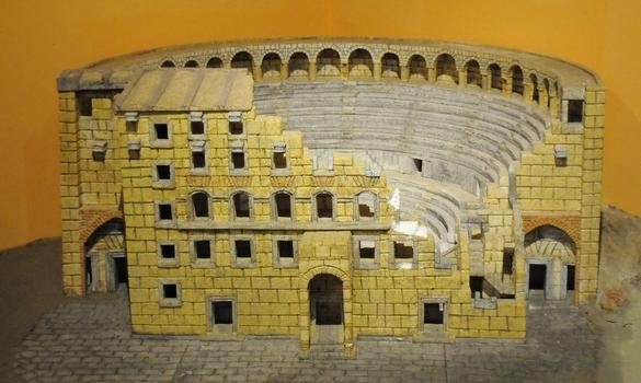 MODEL AF ASPENDOS, MUSEET, ANTALIA