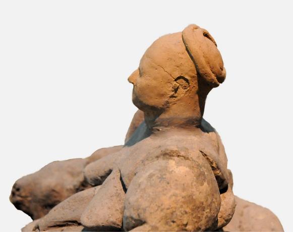 Moderfigurine, Catal Hüyük, Museet for anatolske civilisationer, Ankara