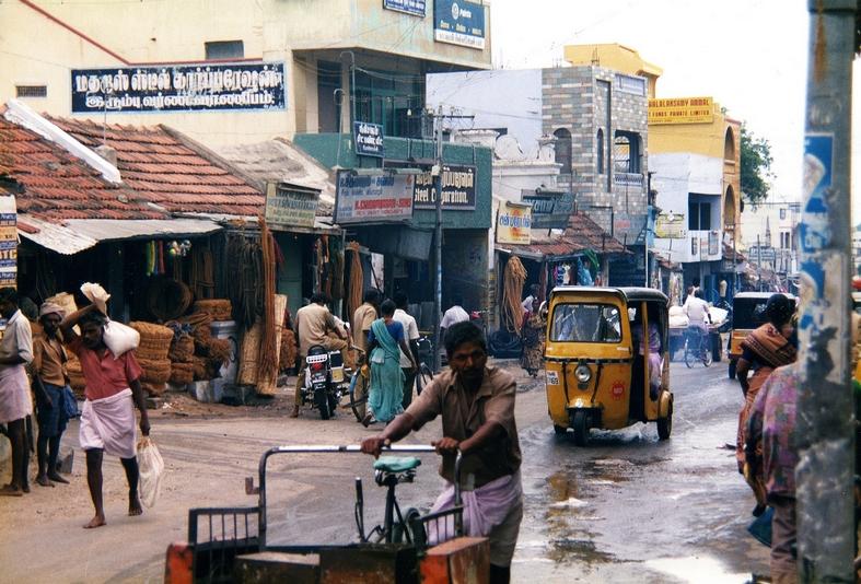 Monsunregn, Sydindien
