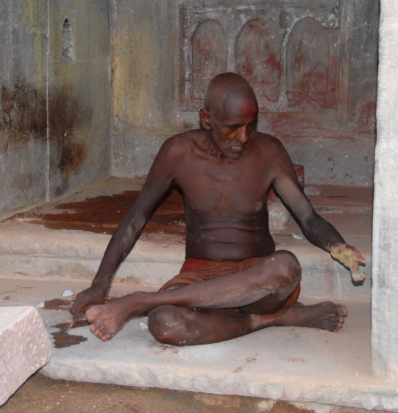 Morgen ved Dashaswamedh ghat,  Varanasi