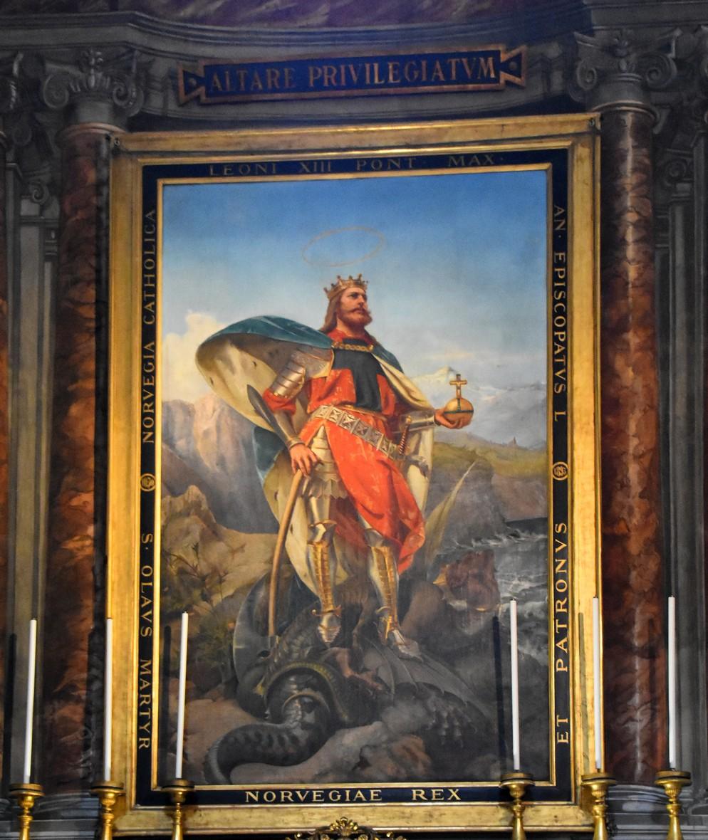 Olav den Hellige, kirke på Corsoen