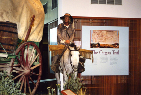 OREGON TRAIL MUSEUM, OREGON