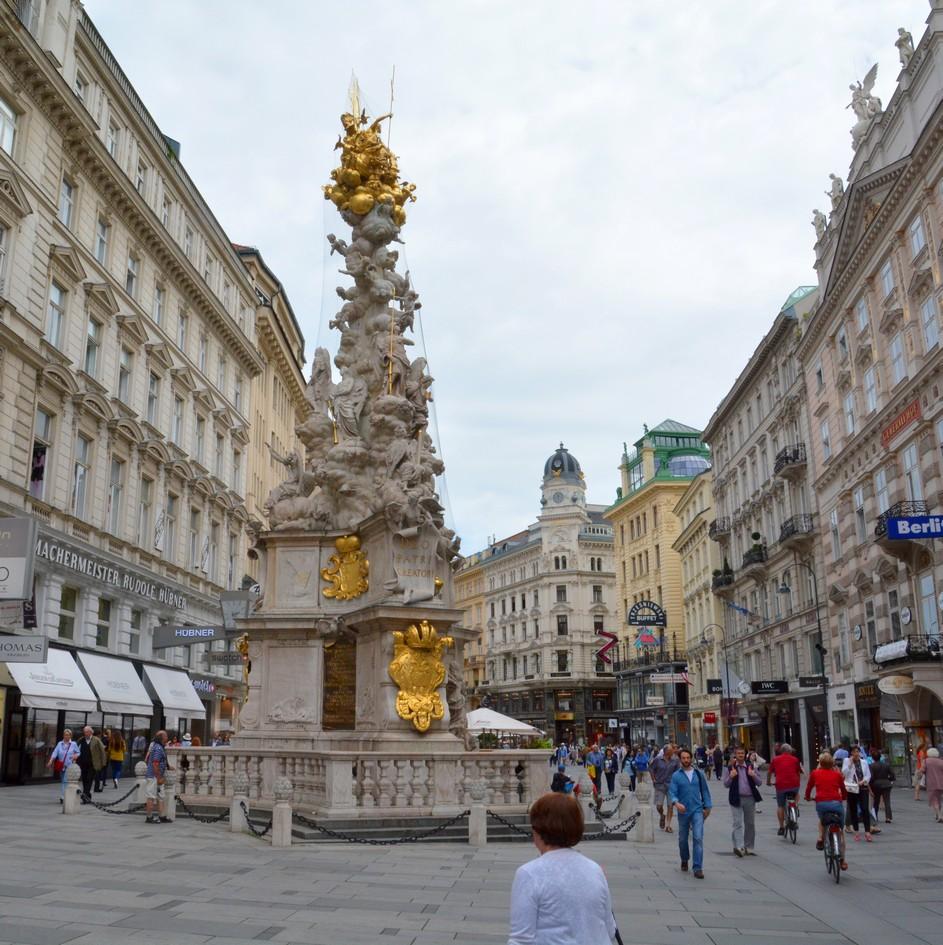 Graben med pestsøjlen, Wien