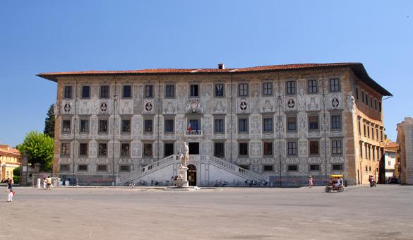 Piazza dei cavalieri, Pisa