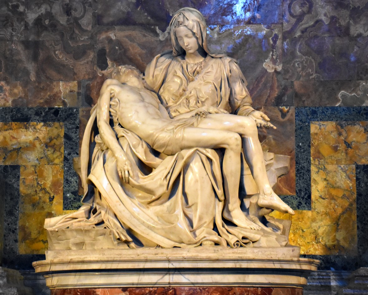 Michelangelos Pietá, Peterskirken