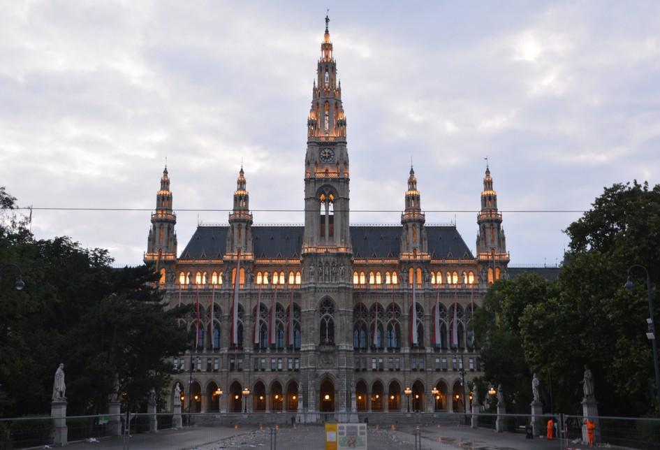 Rådhuset, Wien