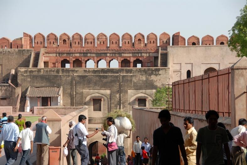 Det røde fort, Agra