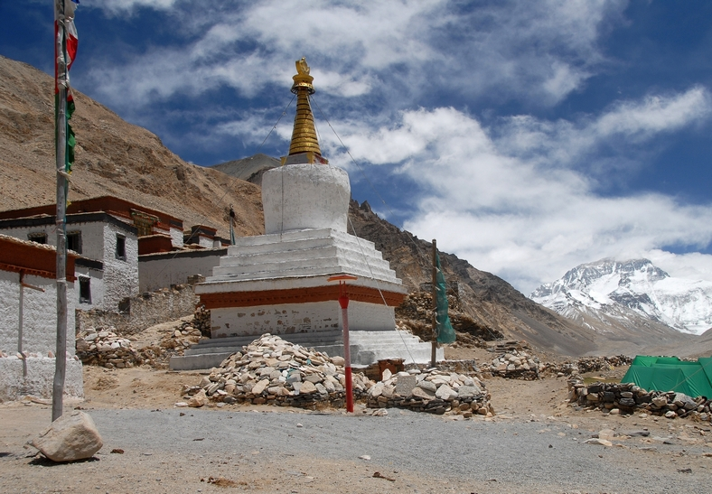 Rongbuk klostret, Everest base camp