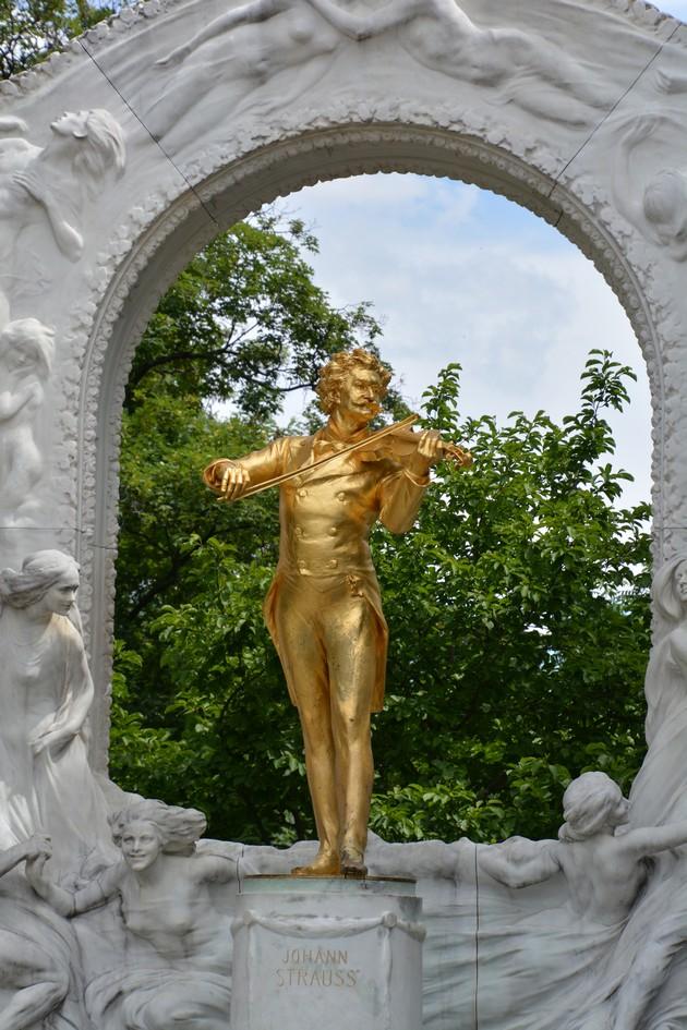 Johannes Strauss d.y., Stadtpark, Wien