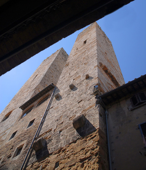 "SAN GIMIGNANO, ""WORLD TRADE CENTER"""