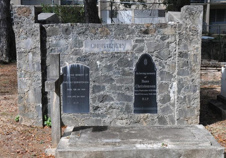 Dansk kirkegård på Skt. Thomas