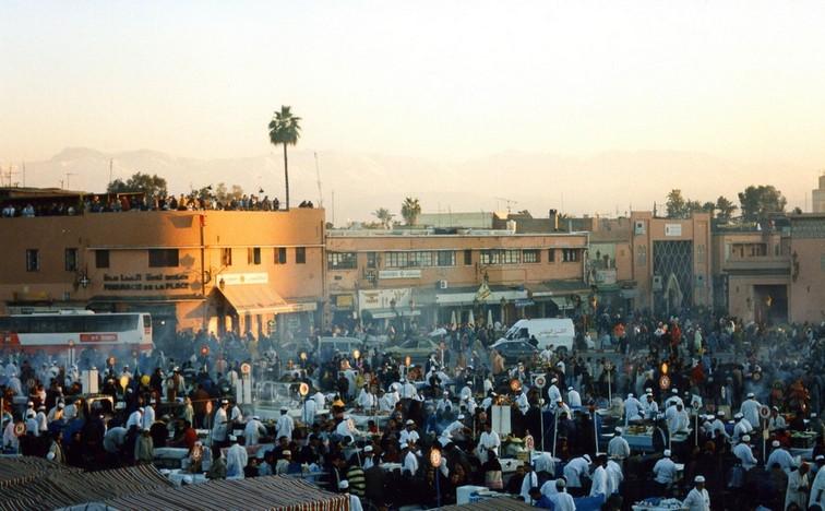 Djama el Fna, Marrakesh