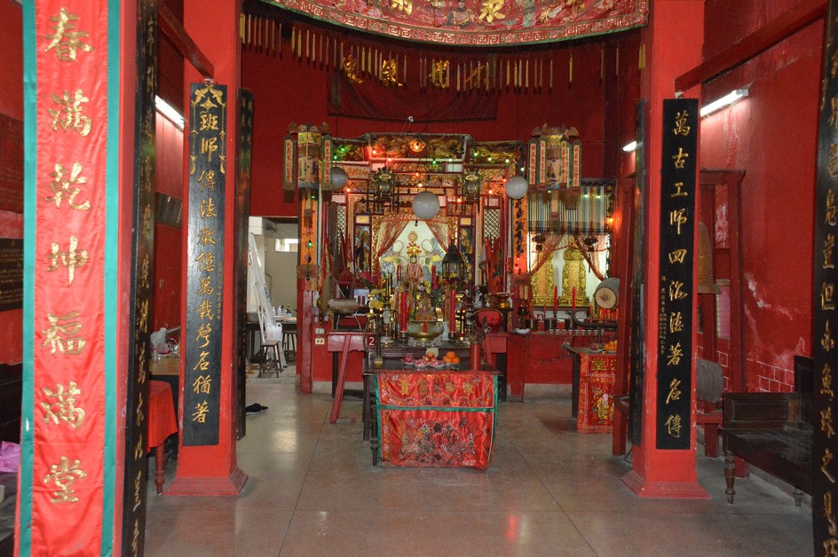 Kinesisk tempel, Phuket by