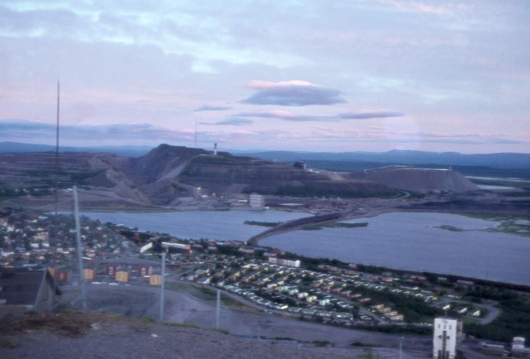 Kirunavara i midnatssol, Kiruna