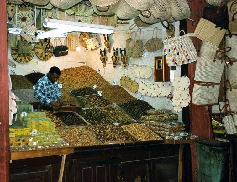 Krydderibasaren, Marrakesh