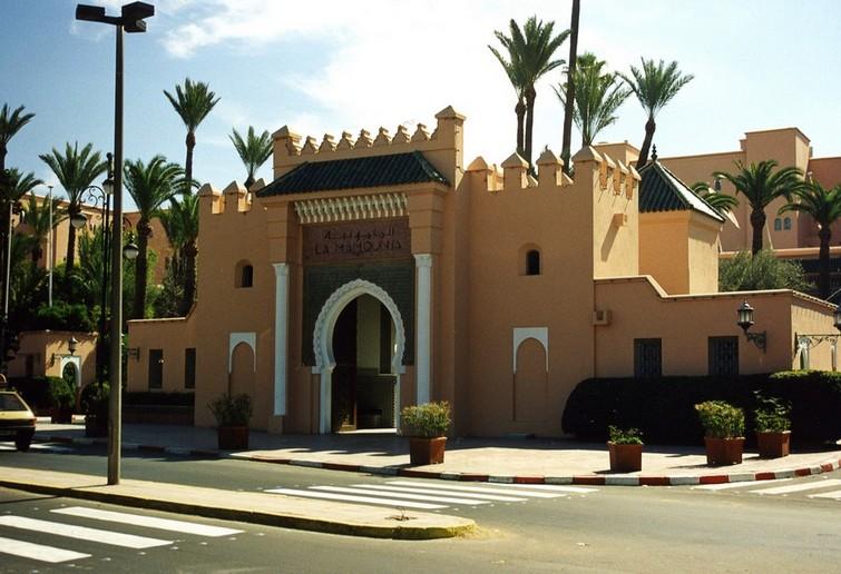 La Mamounia hotel, Marrakesh