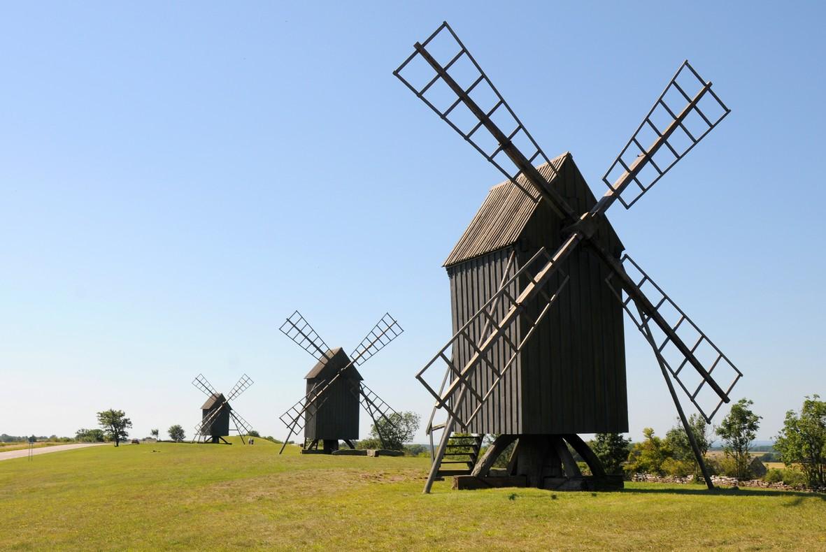 Møller på Øland