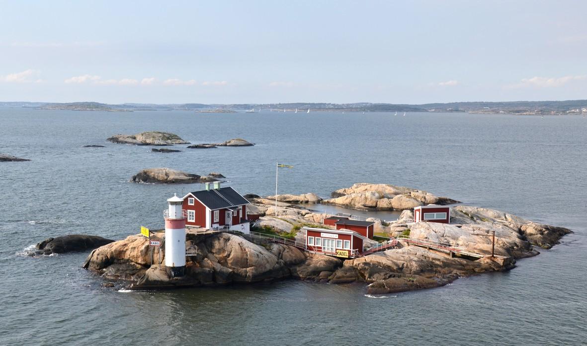 Skærgården, Göteborgs havn