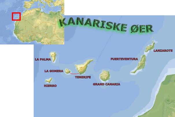 KANARISKE ØER - VINDUE TIL VERDEN