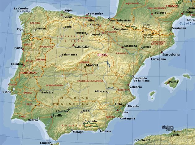 Spanien Vindue Til Verden