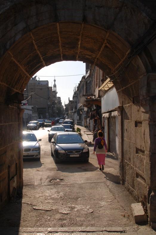 Bab Sharqi og Den Lige Gade