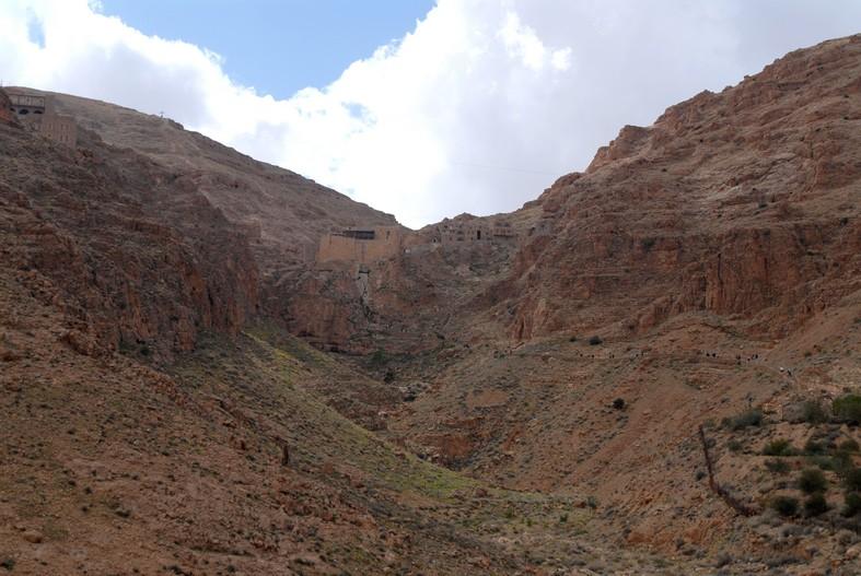 Kloster, syriske ørken