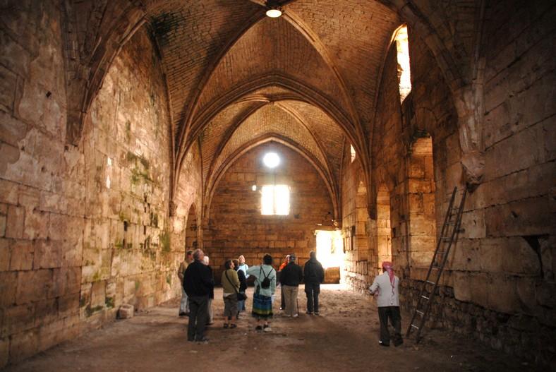 Krak des chevaliers, indre fæstning