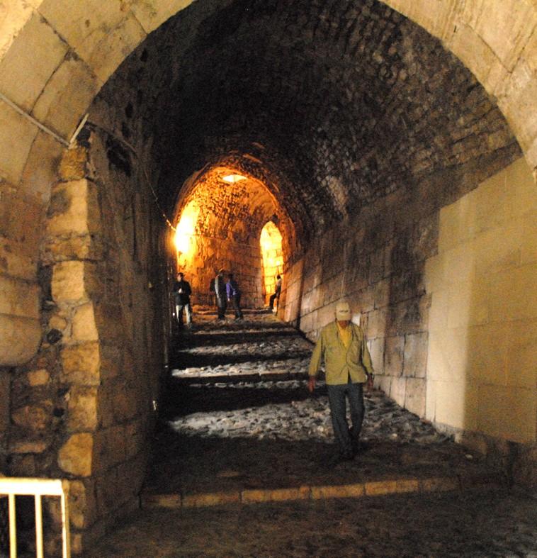 Krak des chevaliers, ydre fæstning