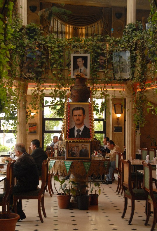 Restaurant ved Aleppo