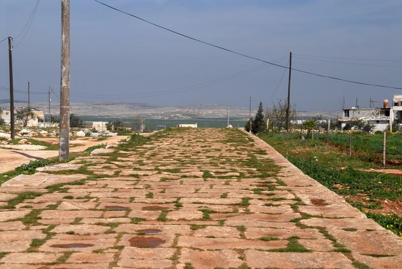 Den romerske landevej mellem Aleppo og Antiokia