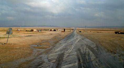 Vejen til Bagdad, syriske ørken