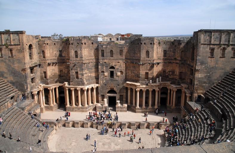 Det romerske teater, Bosra