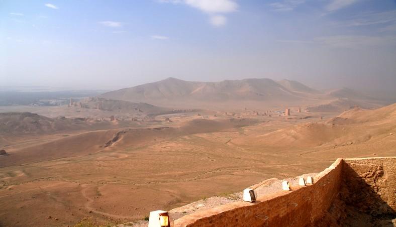 Udsigt fra det arabiske fort