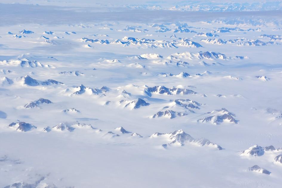 Nunatakker, Sydøstgrønland 2016